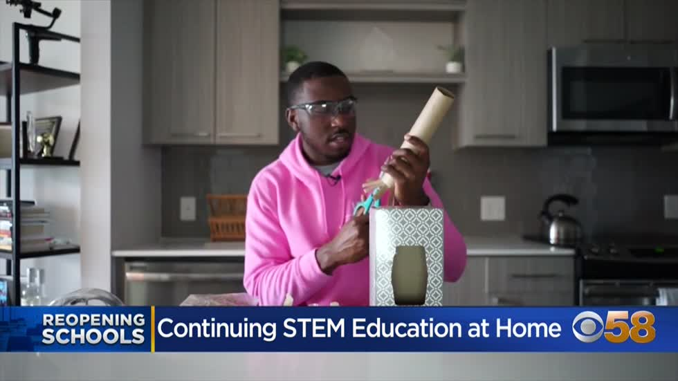 Ways to help continue STEM education at home